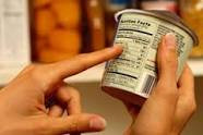 Trouble! Reading labels on your food package?