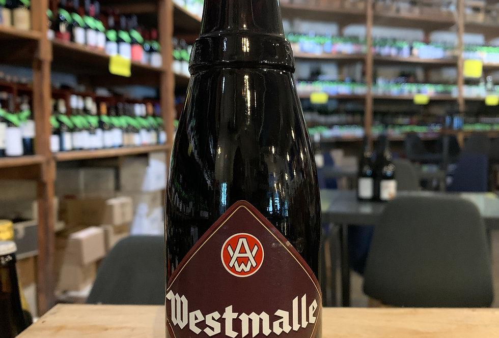Bière Westmalle Dubble Brune Trappiste 33 cl 6,5°