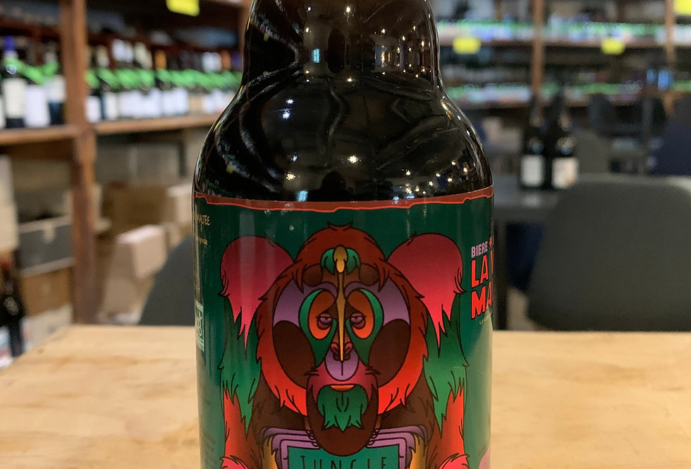 Bière La Voie Maltée Jungle Beast 33 cl 8,3°