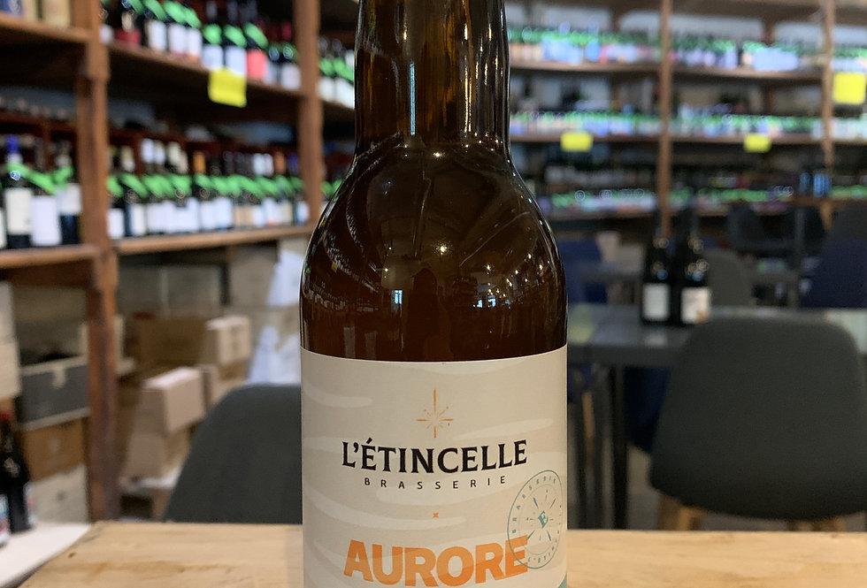 Bière L'Etincelle Aurore Rye Lager 33 cl 5°