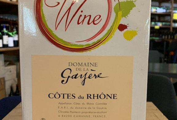 Côtes du Rhone La Gayère Rouge BIB 5 L