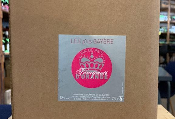 IGP Principauté d'Orange La Gayére Rosé BIB 10 L