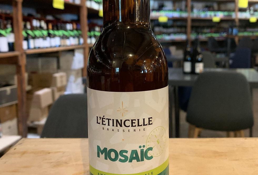 Bière L'Etincelle Mosaïc American Pale Ale 33 cl 5°