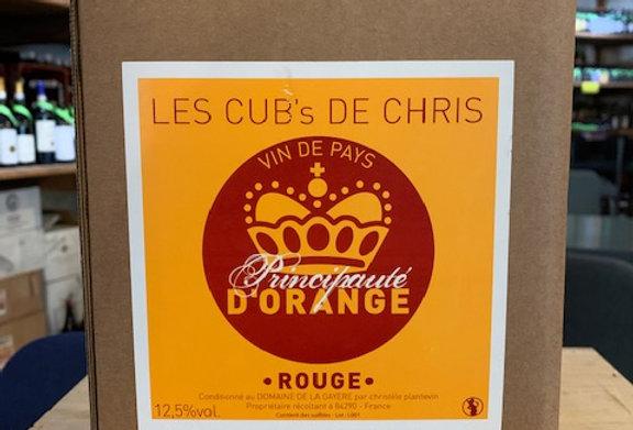 IGP Principauté d'Orange La Gayére Rouge BIB 10 L