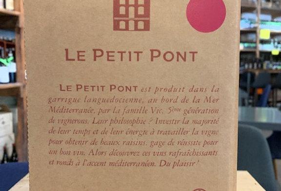 IGP Oc Preignes Petit Pont Rouge BIB 10 L