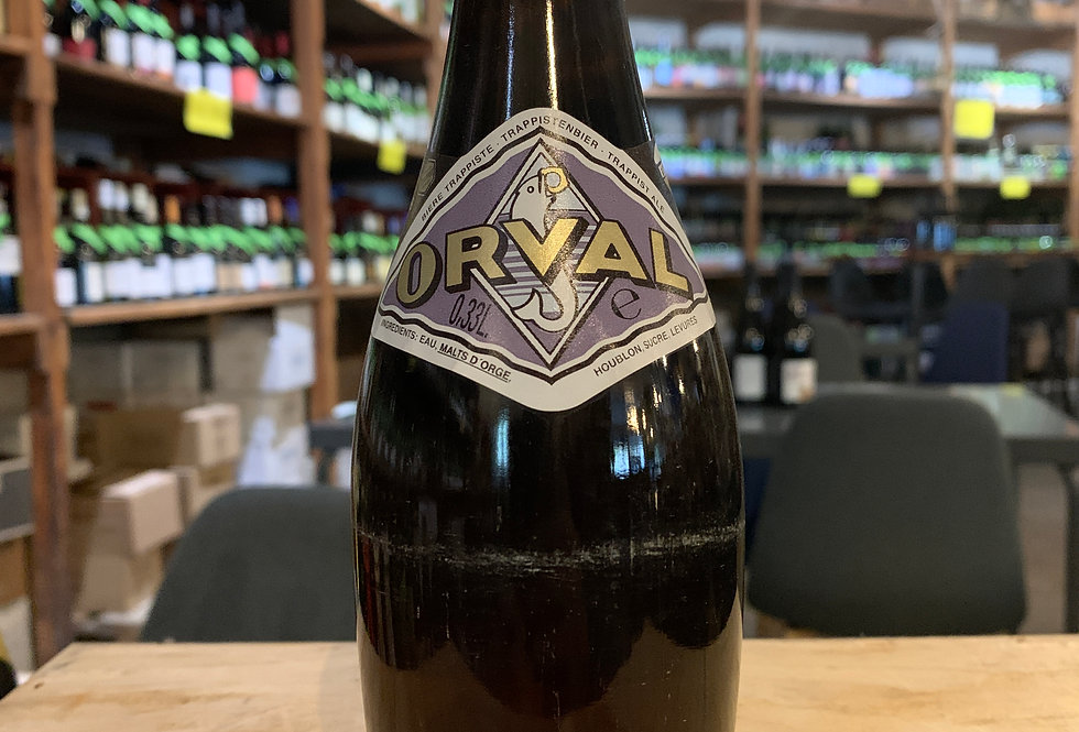 Bière Orval Trappiste 33 cl 6.2°
