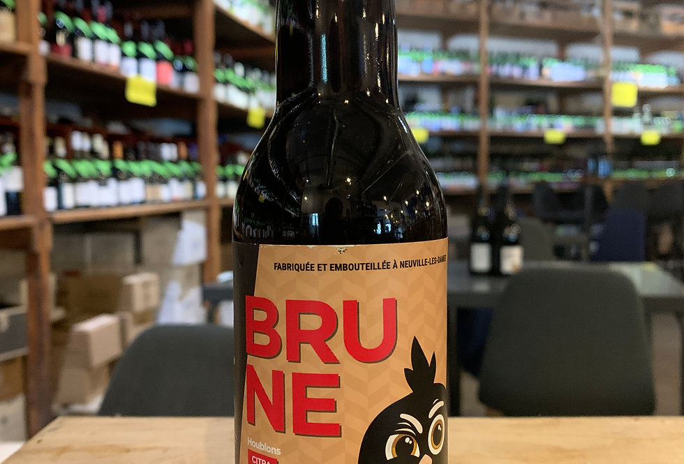 Bière La Poule Brune 33 cl 6.5°