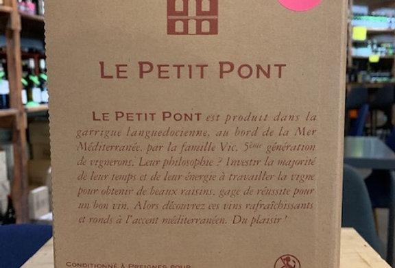 IGP Oc Preignes Petit Pont Rosé BIB 5 L