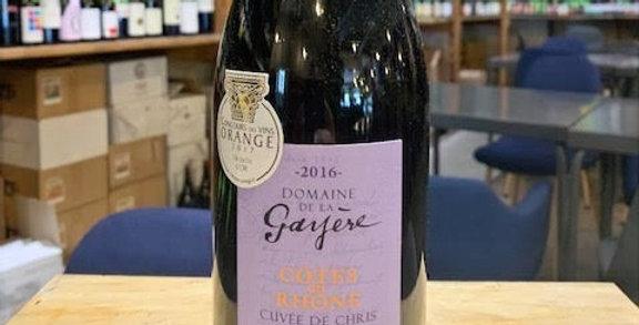 Côtes du Rhône Cuvée de Chris Domaine de la Gayère 2016