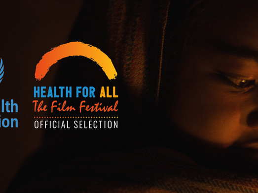 Flags screening at the World Health Organisation's festival.