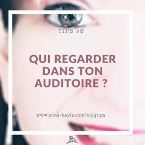 Tips - #8 - Qui regarder quand tu prends la parole en public?