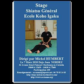 Stage  Shiatsu Général