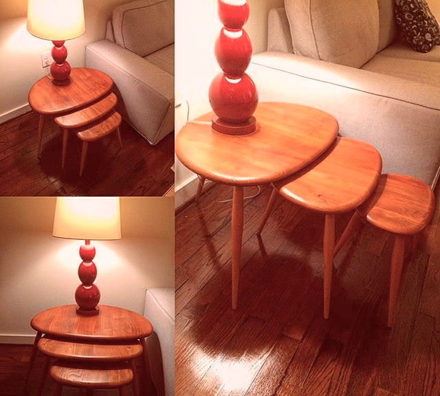 Original mid century nesting tables