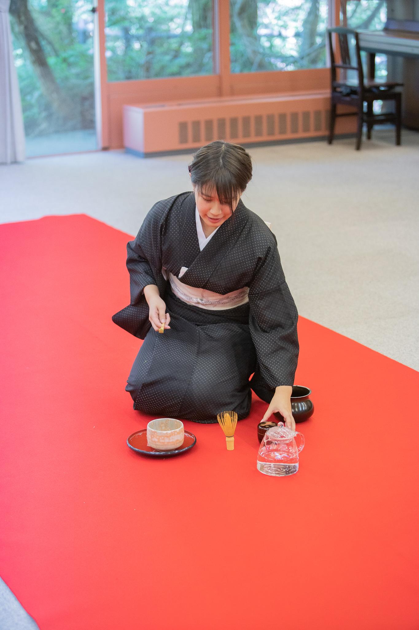 Delicate Tea Ceremony