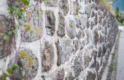 Steinwand - Detail
