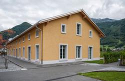Fassade 2 - Kellenwurf