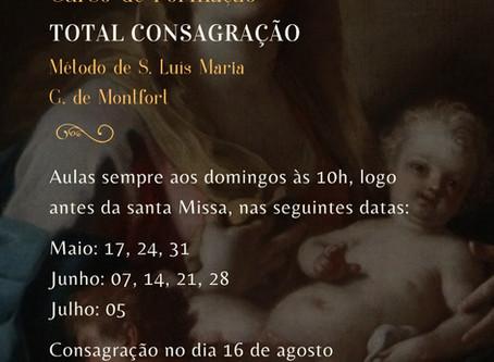 Total Consagração segundo São Luís de Montfort - 1º Semestre de 2020