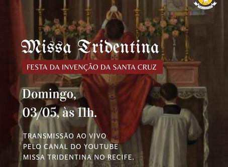 Transmissão da Missa do Domingo 03/05/2020