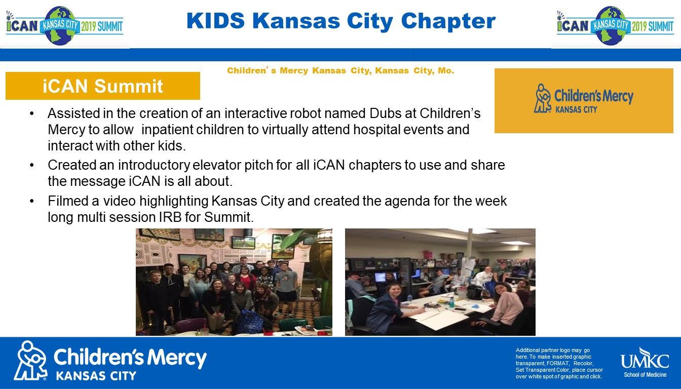 KIDS Kansas City Poster iCAN Summit