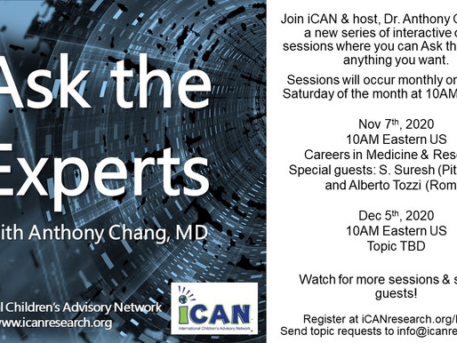 November Kicks Off NEW 'Ask the Experts' - and You Are Invited!