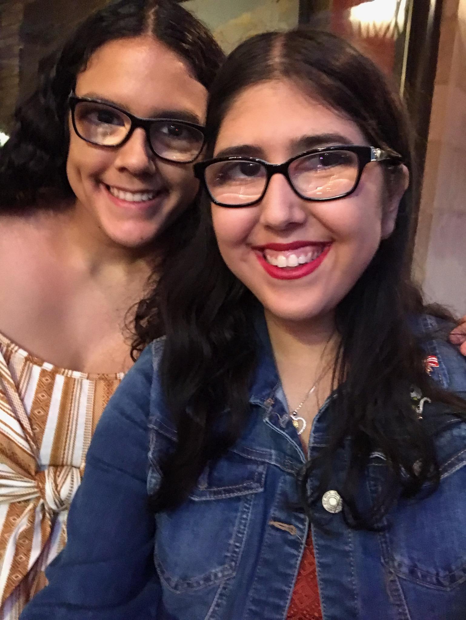 Nicole and Melanie Villarrubia Mendez