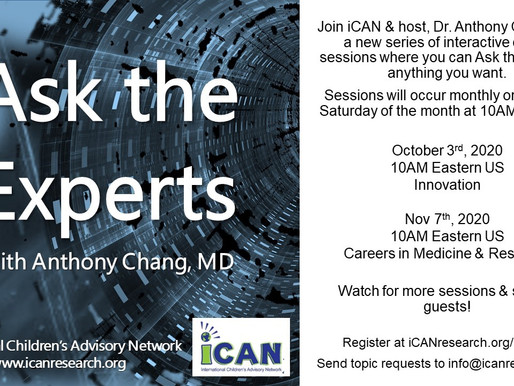 Ask the Experts - A New iCAN Series for Kids