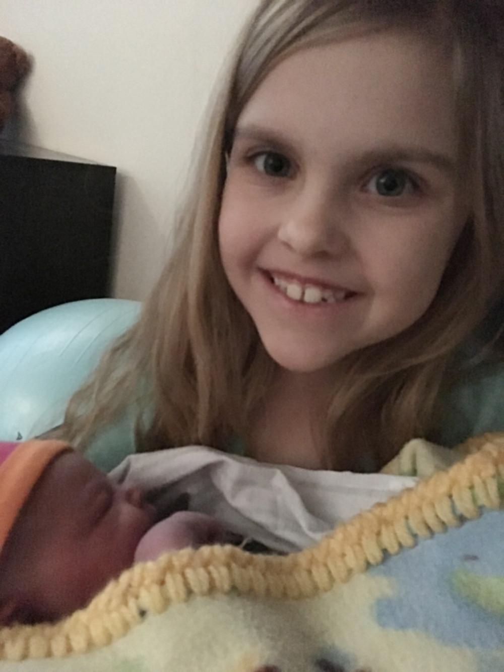 Baby and Evangelia