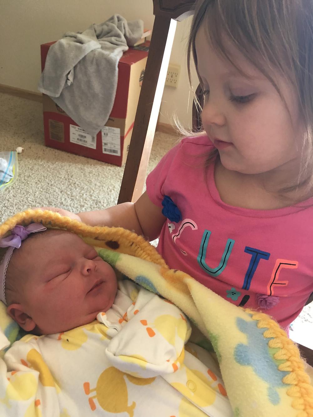 Baby and Kyriaki