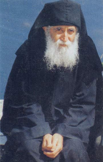 St Paisios of Mt Athos This image has been released into the public domain by the copyright holder, its copyright has expired, or it is ineligible for copyright. This applies worldwide.