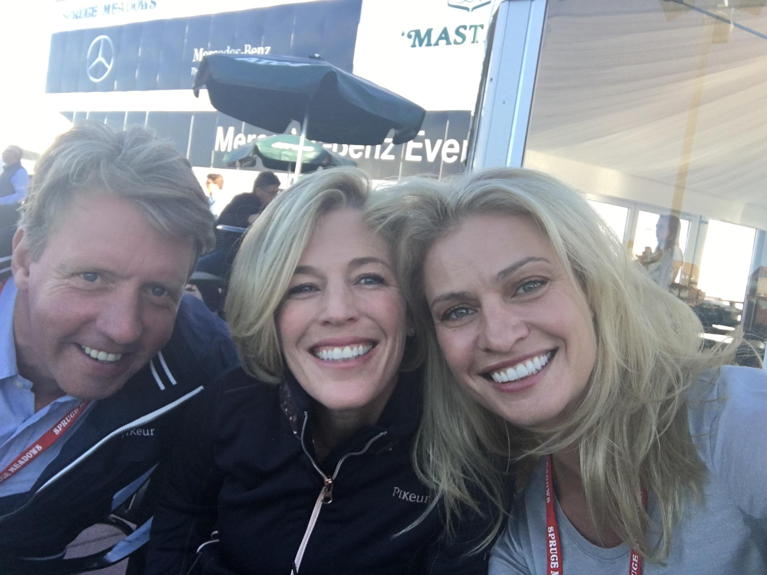 Markus, Meredith & Kristy Clark