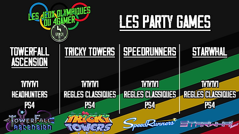 les JO du 4Gamer vignette 8 party games.