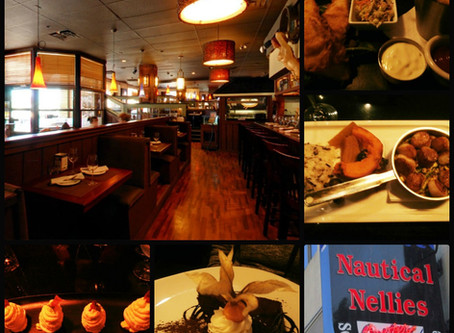 "NAUTICAL NELLIES VOTED #1 ""BEST OF THE CITY"" FOR SEAFOOD AND STEAK!"