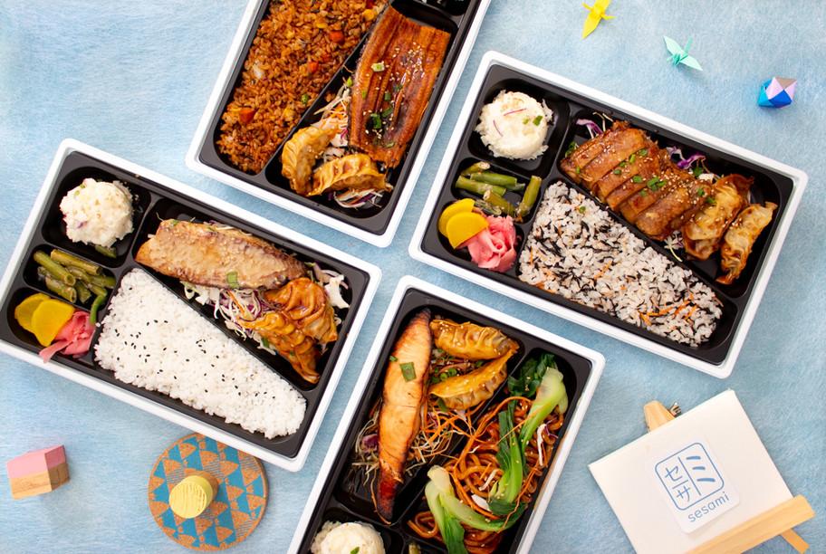 Sesami Takeaway Packaging Group Shot - S