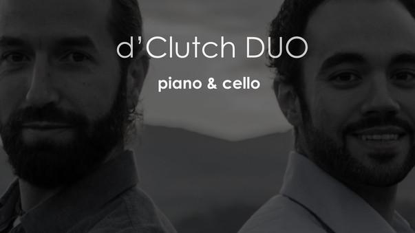 d'Clutch DUO · piano&cello · Vocalise, S. Rachmaninov