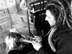 the making of dreadlocks