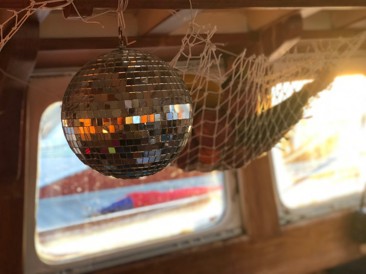 disco ball is necessary in a boat