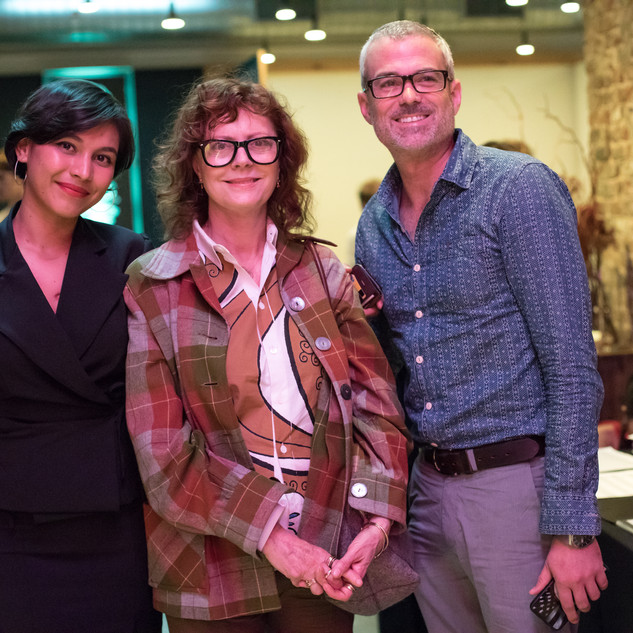 Adana Legros - Susan Sarandon - Chris Talbott