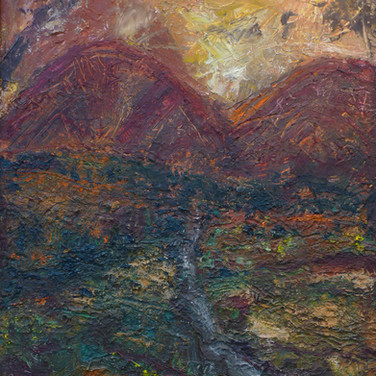 Rupert Copping: 'The Red Hills' SOLD