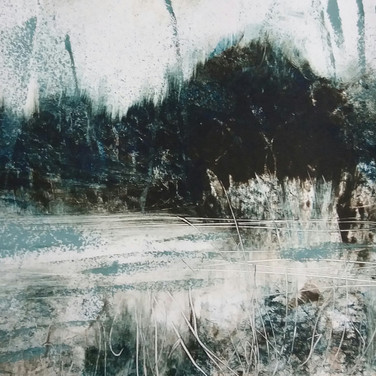 Aileen Grant: 'Dark Hill and Lochan'