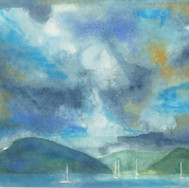 Rupert Copping: 'Plockton Watercolour'l