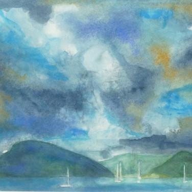 Rupert Copping: 'Plockton Watercolour'l