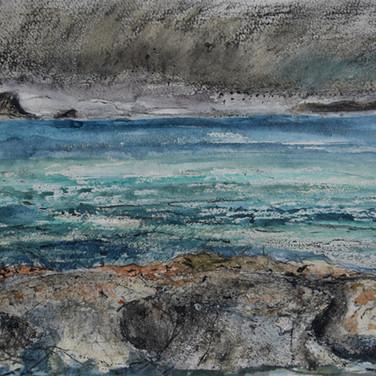 Susan Dawson: 'Approaching Storm from Applecross'