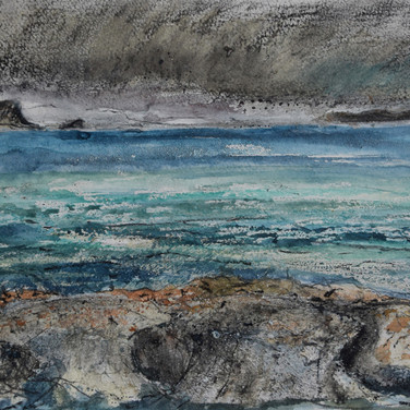 Susan Dawson: 'Approaching Storm from Applecross'
