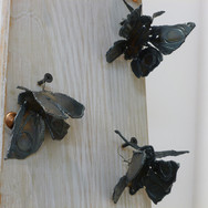 Greg Dobson: 'Butterflies', uered steel