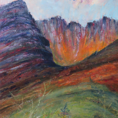Fire in the Hills, Aileen Grant