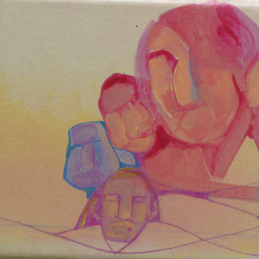 Vera Naessens: 'Gathering of Four'
