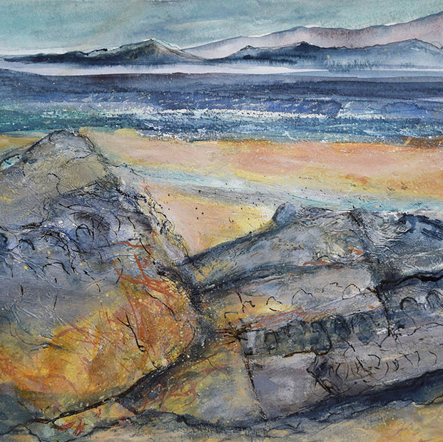 Fading Winter Light, Ashaig - Susan Dawson