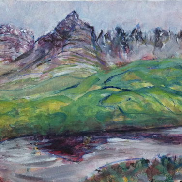Aileen Grant: 'Amongst the Torridon Hills'