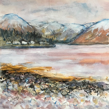 Looking Up Loch Carron, Aileen Grant