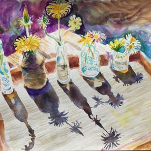 Flower Shadows - Sarah Longley